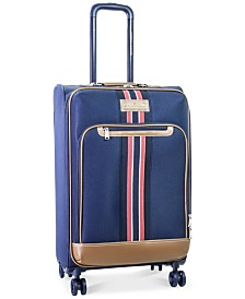 "CLOSEOUT! Tommy Hilfiger Freeport 25"" Expandable Spinner Suitcase, Created for Macy's"