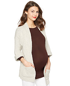 A Pea in the Pod Maternity Cardigan, Convertible Sleeve Drop Shoulder