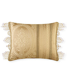 "J Queen New York Napoleon Gold 20"" x 15"" Decorative Pillow"