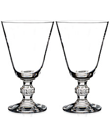 Waterford Town & Country Collection Ashton Lane Wine Glasses, Set of 2