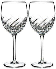 Essentially Wave Collection Goblet Pair