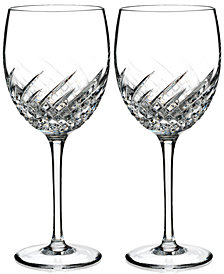 Waterford Essentially Wave Collection Goblets, Set of 2