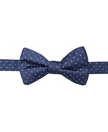 Ryan Seacrest Distinction Men's Fairfax Pindot Pre-Tied Bow Tie, Created for Macy's