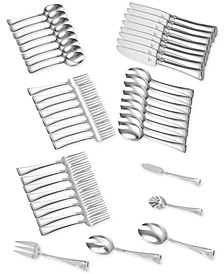 Zwilling TWIN® Brand Angelico 18/10 Stainless Steel 45-Pc. Flatware Set, Service for 8