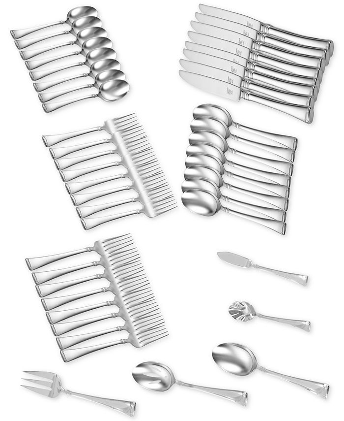 J.A. Henckels - TWIN® Brand Angelico 18/10 Stainless Steel 45-Pc. Flatware Set, Service for 8