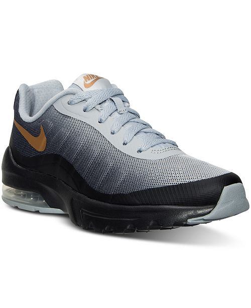 best loved 763fd 594ef ... Nike Women s Air Max Invigor Print Running Sneakers from Finish Line ...