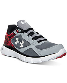 Under Armour Big Boys' Micro G Velocity Running Sneakers from Finish Line