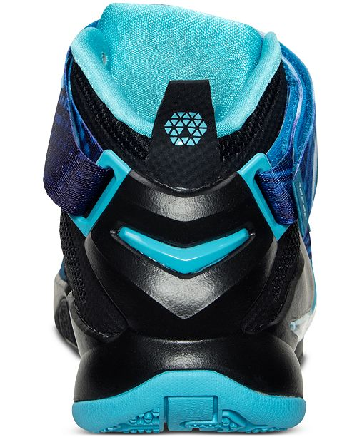 best cheap fc0f0 1bc1b Nike Big Boys' LeBron Soldier 9 Basketball Sneakers from ...