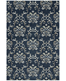 Dalyn Mosaic Emma Navy Area Rugs