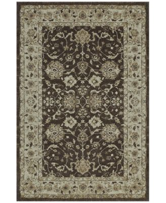 "Mosaic Estate Chocolate 3'3"" x 5'1"" Area Rug"