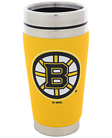 Hunter Manufacturing Boston Bruins 16 oz. Stainless Steel Travel Tumbler