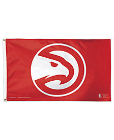 Wincraft Atlanta Hawks Deluxe Flag New Logo