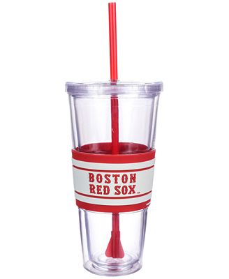 Boelter Brands Boston Red Sox 22 oz. Hyped Straw Tumbler