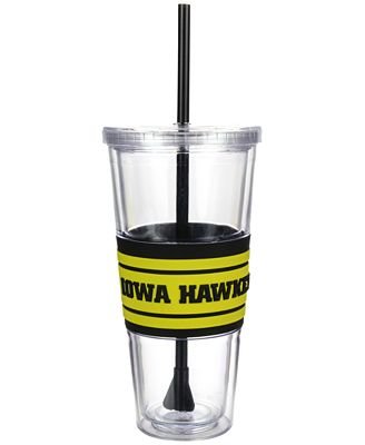 Boelter Brands Iowa Hawkeyes 22 oz. Hyped Straw Tumbler