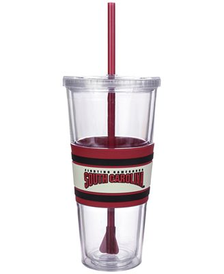 Boelter Brands South Carolina Gamecocks 22 oz. Hyped Straw Tumbler
