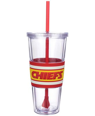 Boelter Brands Kansas City Chiefs 22 oz. Hyped Straw Tumbler