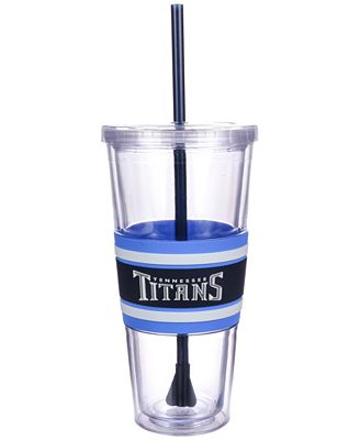 Boelter Brands Tennessee Titans 22 oz. Hyped Straw Tumbler
