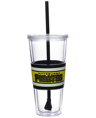 Boelter Brands Pittsburgh Pirates 22 oz. Hyped Straw Tumbler