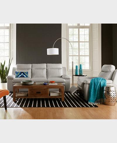 CLOSEOUT! Zane Leather Sofa Collection