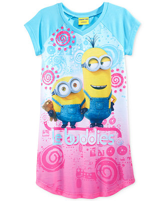 Despicable Me Girls And Little Girls Buddies Nightgown