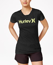 Hurley Juniors' One & Only Logo Graphic T-Shirt