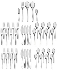 45-Pc. Bend Flatware Set, Service for 8