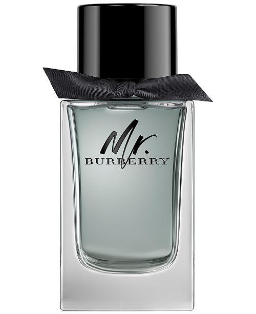 Burberry Men's Mr. Burberry Eau de Toilette Spray, 5.0 oz