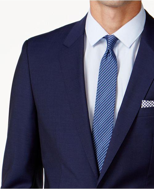 d0e398c3b Hugo Boss HUGO Men's Blue Extra Slim-Fit Suit Separates & Reviews ...