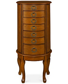 Shirlee Jewelry Armoire - Quick Ship