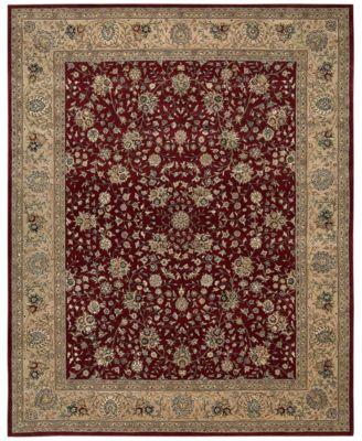 CLOSEOUT! Wool & Silk 2000 2107 Burgundy 7'6