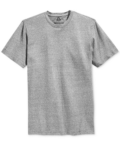 American Rag Men's Solid Tri Blend Big & Tall T-Shirt, Only at Macy's