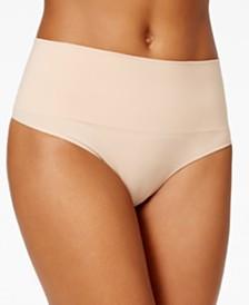 SPANX Women's  Everyday Shaping Panties Thong SS0815