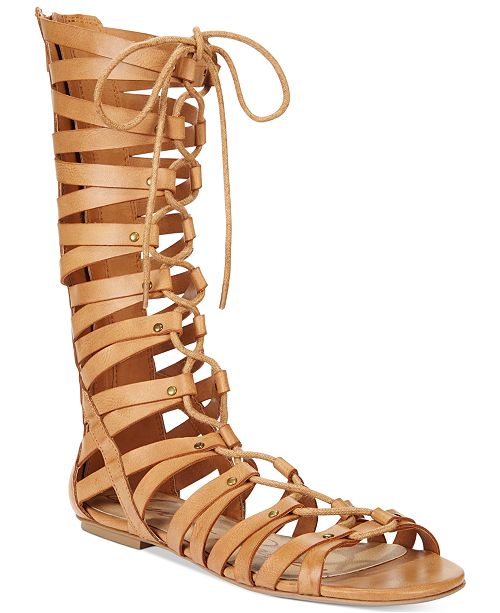 American Rag Maya Lace-Up Gladiator Sandals, Created for Macy's