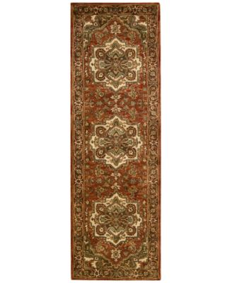 "Area Rug, Jaipur JA36 Red 2'4' x 8'0"" Runner Rug"