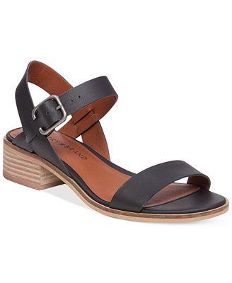 Lucky Brand Women's Toni Block-Heel Sandals
