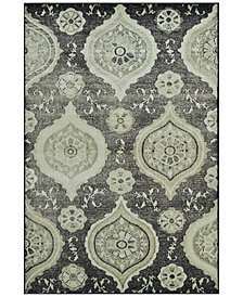 "CLOSEOUT! D Style Menagerie MEN1548 Stone 3'3"" x 5'1"" Area Rug"