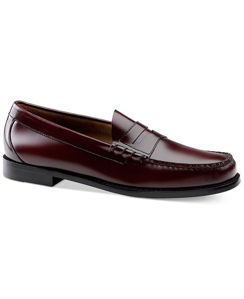 Find Great Cheap Price G.H. Bass & Co. Larson Weejuns (Burgundy Box Leather) Mens Slip-on Dress Shoes Exclusive Cheap Online LzWkb2