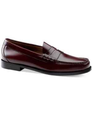 G.H. BASS & CO. Bass & Co. Men'S Larson Weejuns Loafers Men'S Shoes in Burgundy