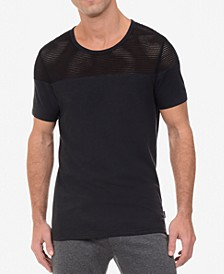 Men's Open-Mesh T-Shirt