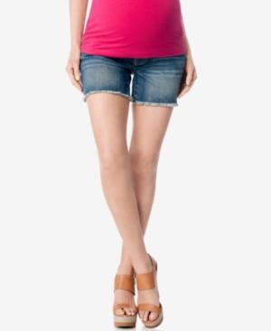 Motherhood Maternity Cutoff Denim Shorts plus size,  plus size fashion plus size appare