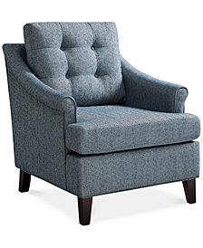 Charleston Tufted Club Chair, Quick Ship