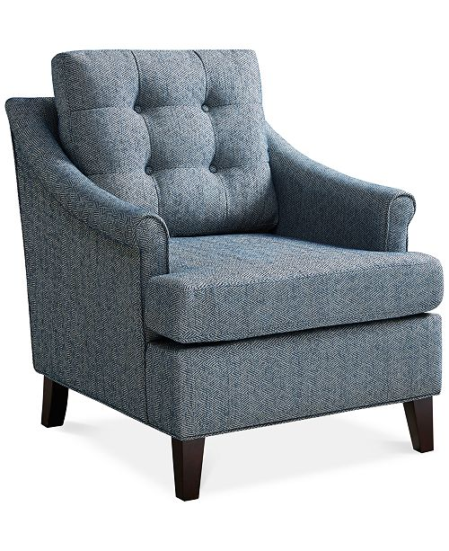 Furniture Claire Tufted Club Chair