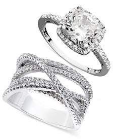 Giani Bernini Cubic Zirconia Ring Collection, Created for Macy's