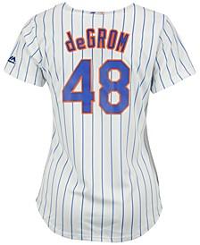 Women's Jacob DeGrom New York Mets Replica Cool Base Jersey