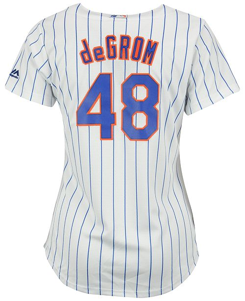 the latest bca72 af8f4 Women's Jacob DeGrom New York Mets Replica Cool Base Jersey