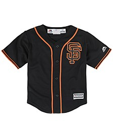 Toddlers' San Francisco Giants Replica Cool Base Jersey