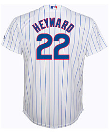 Majestic Kids' Jason Heyward Chicago Cubs Replica Jersey, Big Boys (8-20)