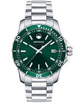 4cf44529efa2 Movado Men s Swiss Series 800 Stainless Steel Bracelet Watch 40mm 2600136