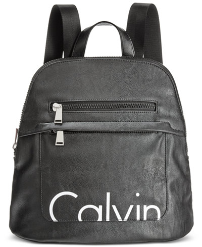 calvin klein small backpack handbags accessories macy 39 s. Black Bedroom Furniture Sets. Home Design Ideas