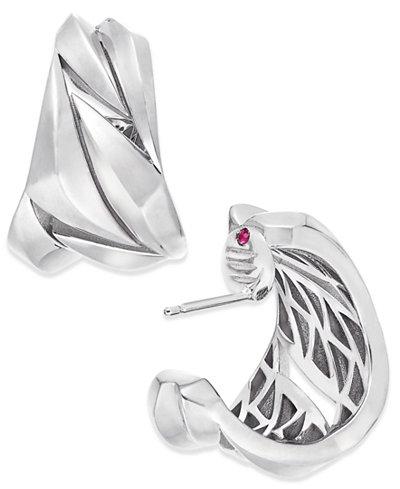 The Fifth Season by Roberto Coin Sterling Silver Hoop Earrings 7771158SWER0